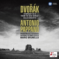 Dvorak: Symphony No.9 & Cello-Antonio Pappano-CD