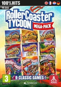 Rollercoaster Tycoon (9 Megapack)-PC CD-DVD