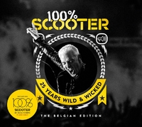Scooter : 100% Scooter – 25 Years Wild & Wicked – The Belgian Edition (3CD)-Scooter-CD