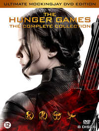 Hunger Games 1-4 (8 DVD Ultimate Mockingjay Edition)-DVD