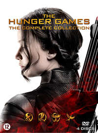 Hunger Games 1-4 (4 DVD Complete Collection)-DVD
