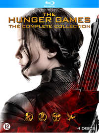 Hunger Games 1-4 (4 Blu-Ray Complete Collection)-Blu-Ray