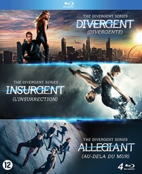 Divergent Trilogy-Blu-Ray