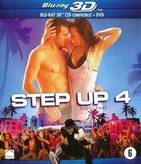 Step Up 4: Miami Heat (3D & 2D Blu-Ray)-3D Blu-Ray