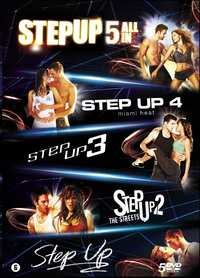 Step Up 1-5-DVD