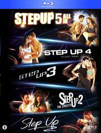 Step Up 1-5-Blu-Ray