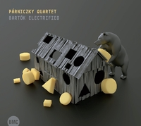 Bartok Electrified-Parniczky Quartet-CD