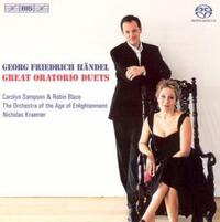 Händel - Oratorio Duets-Counter-ten Robin Blaze, Soprano Carolyn Sampson-CD
