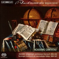 Secular Cantatas Volume 4-Bach Collegium Japan, Masaaki Suzuki-CD