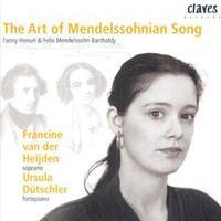 The Art Of Mendelssohnian Song-Francine van der Heijden, Ursula Dutschler-CD