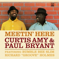 Meetin' Here/Back In Town-Curtis Amy, Paul Bryant-CD