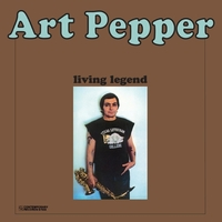 Living Legend -HQ--Art Pepper-LP