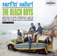 Surfin' Safari + 1-Beach Boys-CD