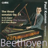 Beethoven : The Piano Sonatas Vol 3: The Sonatas F-Paul Komen-CD