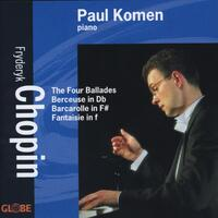 Ballades, Berceuse, Barcarolle, Fantaisie-Paul Komen-CD
