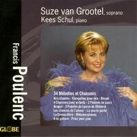 Poulenc: 34 Mélodies Et Chansons-Kees Schul, Suze van Grootel-CD