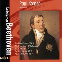 Beethoven: The Piano Sonatas, Vol. 4-Paul Komen-CD
