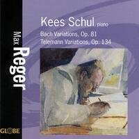 Bach Variations/Telemann Variations-Kees Schul-CD
