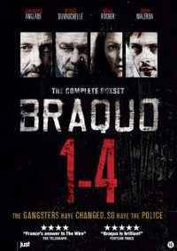 Braquo - Seizoen 1-4-Blu-Ray
