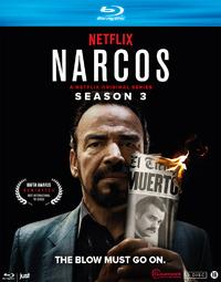 Narcos - Seizoen 3-Blu-Ray