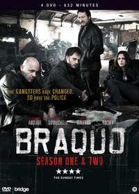 Braquo - Seizoen 1 & 2-DVD