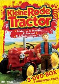 Kleine Rode Tractor - 3 DVD Box-DVD