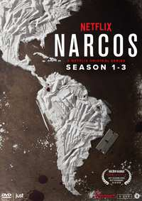 Narcos - Seizoen 1-3-DVD