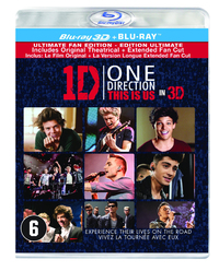 One Direction: This Is Us (3D En 2D Blu-Ray)-3D Blu-Ray