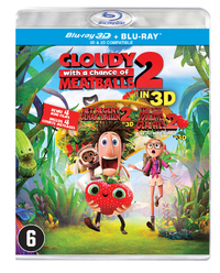 Het Regent Gehaktballen 2 (3D En 2D Blu-Ray)-3D Blu-Ray