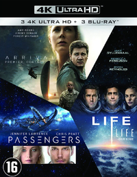 Arrival / Life / Passengers-4K Blu-Ray