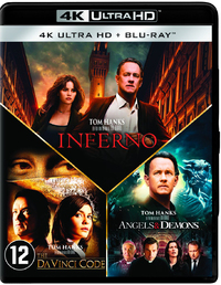 Angels & Demons / Da Vinci Code / Inferno (4K Ultra HD En Blu-Ray)-4K Blu-Ray