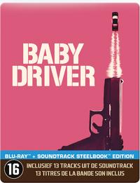 Baby Driver (Steelbook)-Blu-Ray