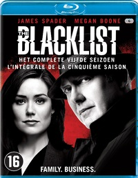 The Blacklist - Seizoen 5-Blu-Ray