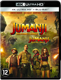 Jumanji - Welcome To The Jungle (4K Ultra HD + Blu-Ray)-4K Blu-Ray