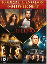 Angels & Demons / Da Vinci Code / Inferno-DVD
