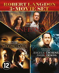 The Da Vinci Code - Angels & Demons - Inferno-Blu-Ray