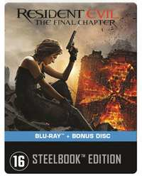 Resident Evil - The Final Chapter (Steelbook)-Blu-Ray