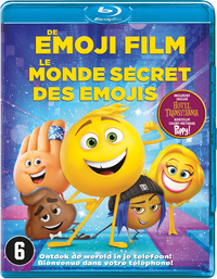 The Emoji Movie-Blu-Ray