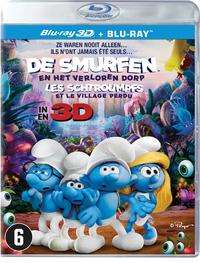 De Smurfen En Het Verloren Dorp (3D En 2D Blu-Ray)-3D Blu-Ray