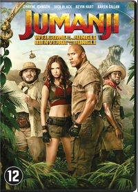 Jumanji - Welcome To The Jungle-DVD