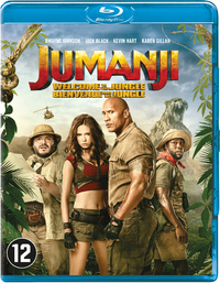 Jumanji - Welcome To The Jungle-Blu-Ray