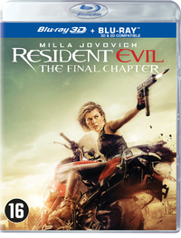Resident Evil - The Final Chapter (3D En 2D Blu-Ray)-3D Blu-Ray