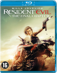 Resident Evil - The Final Chapter-Blu-Ray
