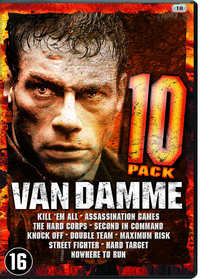 Jean-Claude Van Damme - 10 Movie Pack-DVD
