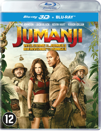 Jumanji - Welcome To The Jungle (3D Blu-Ray En 2D Blu-Ray)-3D Blu-Ray