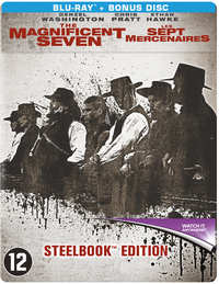 The Magnificent Seven (2016) (Steelbook)-Blu-Ray