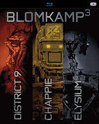 Chappie / District 9 / Elysium-Blu-Ray