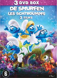 De Smurfen 1-3-DVD
