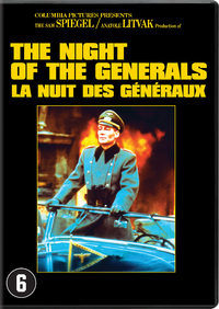 The Night Of The Generals-DVD