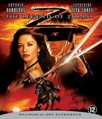 The Legend Of Zorro-Blu-Ray